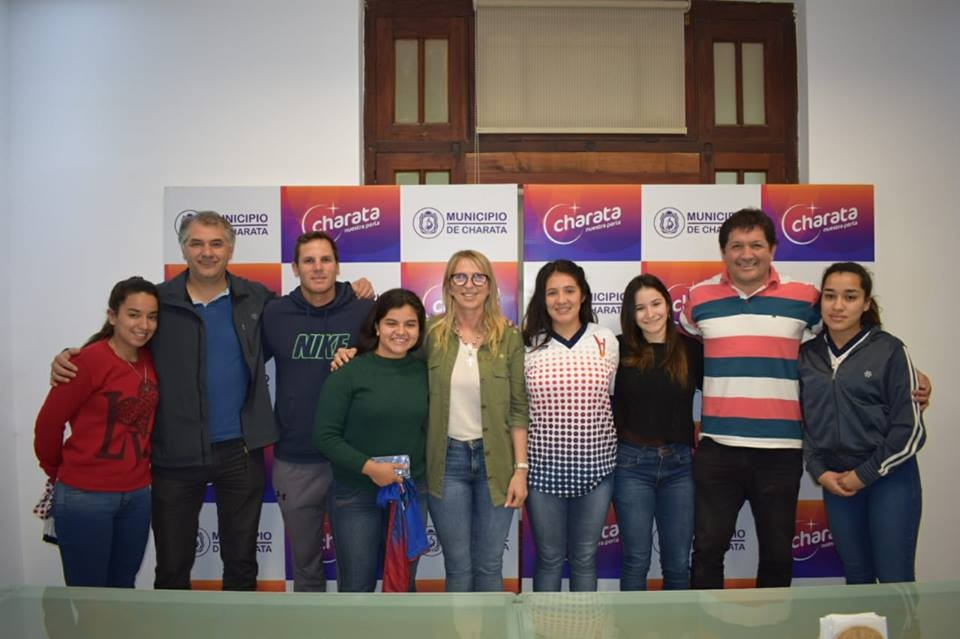 EN EL MUNICIPIO RECIBIERON A INTEGRANTES DEL CLUB HÉRCULES